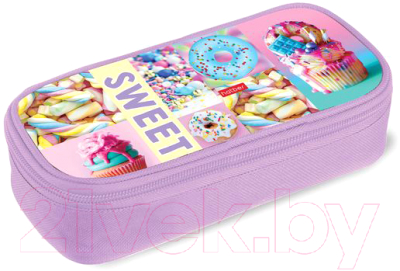 Пенал Hatber Sweets / Npk 29190