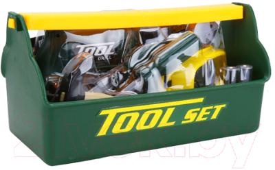 Набор инструментов игрушечный Tegole Юный строитель / T115(G)