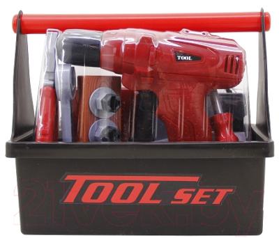 Набор инструментов игрушечный Tegole Юный строитель / T1802A