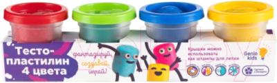 Набор для лепки Genio Kids Тесто-пластилин / TA1000BP