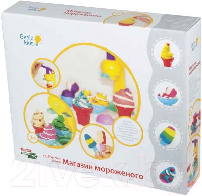 Набор для творчества Genio Kids Магазин мороженого TA1035V