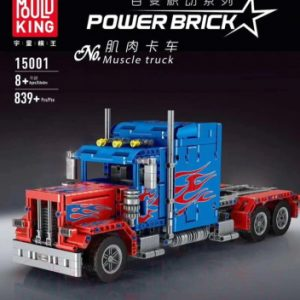 Конструктор Mould King Technic Грузовик Peterbilt 389 Optimus Prime / 15001