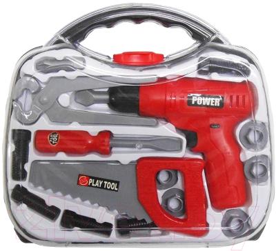 Набор инструментов игрушечный Tegole Юный строитель / TG206J