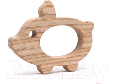 Прорезыватель для зубов Polle Toys Свинья TO0104AS00