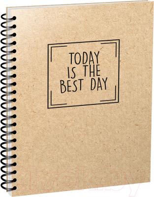 Блокнот Попурри Today is the Best Day