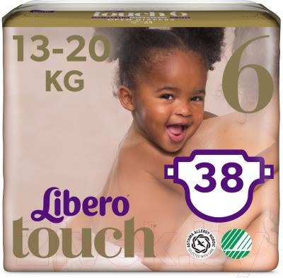 Подгузники детские Libero Touch 6 Junior 13-20кг