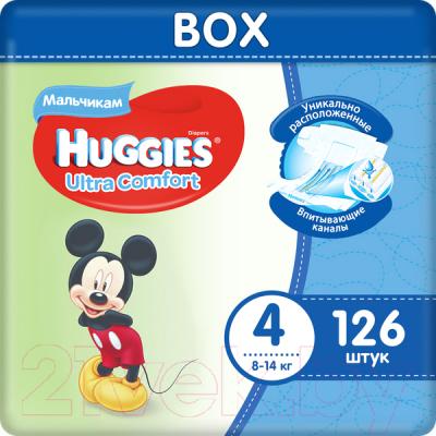 Подгузники детские Huggies Ultra Comfort 4 Disney Boy