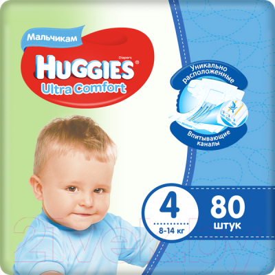 Подгузники детские Huggies Ultra Comfort Giga 4 Boy