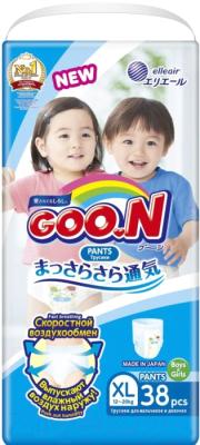 Подгузники-трусики детские Goo.N Unisex XL