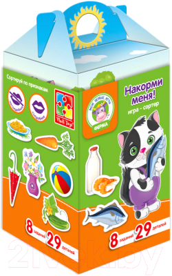 Развивающая игра Vladi Toys Игры на коробке / VT1312-03