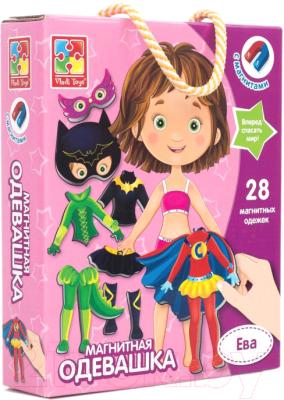 Развивающая игра Vladi Toys Магнитная одевашка. Ева / VT3702-04