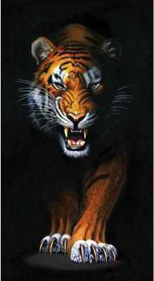 Набор алмазной вышивки Wizardi Преследующий тигр / WD2408