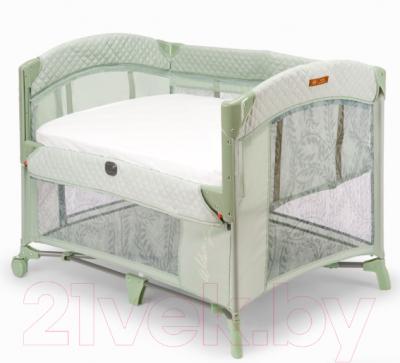 Кровать-манеж Happy Baby Wilson Sage / 93001