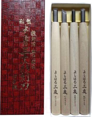 Набор для резьбы по дереву Yoshiharu Y-4