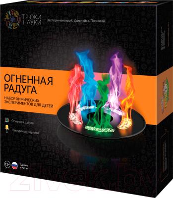Набор для опытов Трюки науки Огненная радуга / Z002
