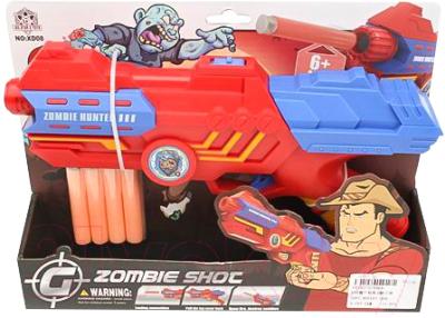 Бластер игрушечный Toys Zombie Shoc / XD08