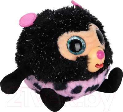 Мягкая игрушка 1Toy Дразнюка-Zoo Божья коровка / Т10351